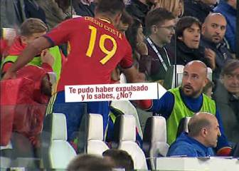 "Reina to Diego Costa: ""You could have got sent off!"""