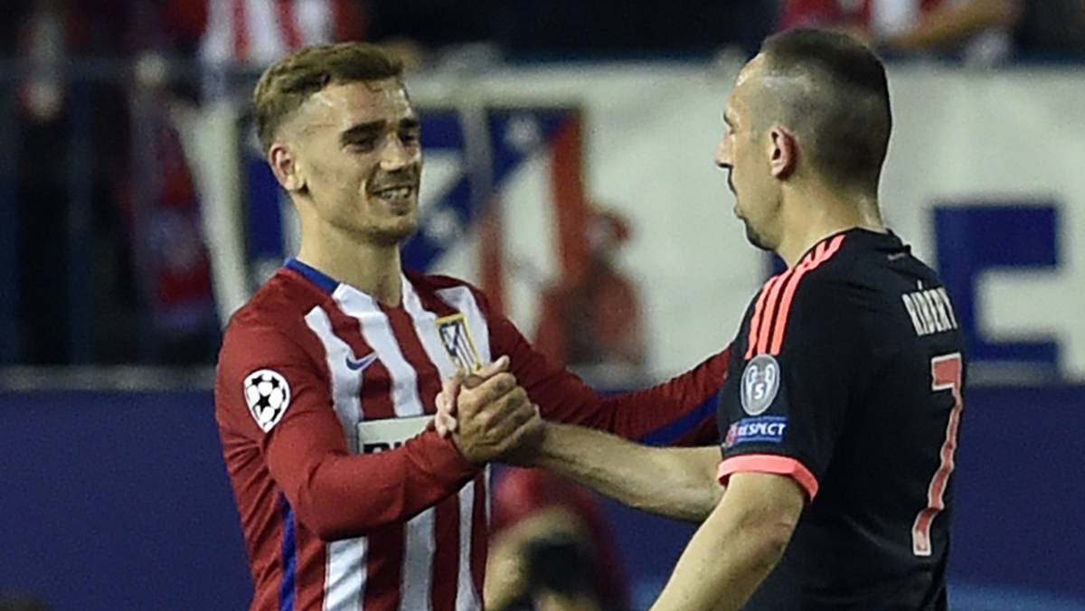 Ribery: Griezmann not yet world class