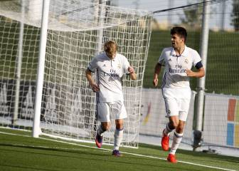 Odegaard and Enzo Zidane revive Real Madrid Castilla