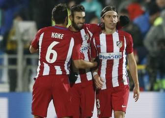Carrasco edges Atleti past resilient Rostov