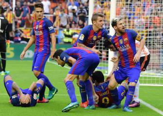 Barça sneak win right at the death at Mestalla