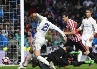 El Real Madrid, con James en el banco, vence al Athletic