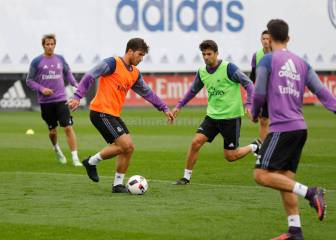 424 days later, Lucas Silva returns to Real Madrid training