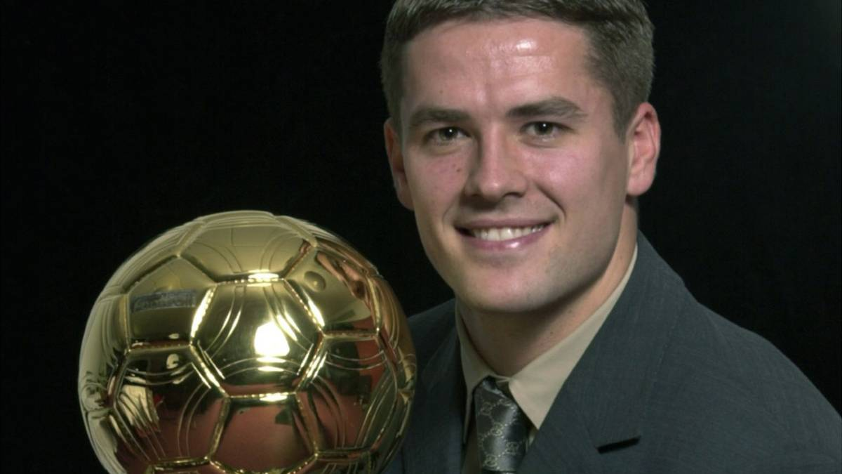 When Michael Owen found out he'd won the Ballon d'Or