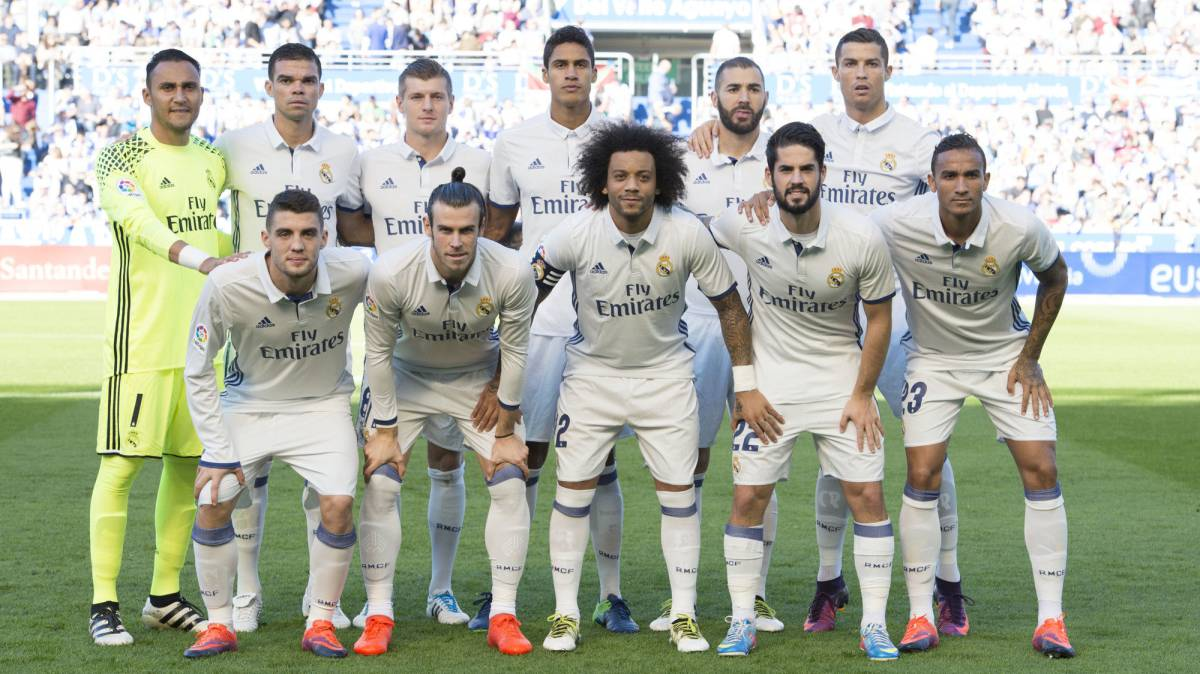 Real Madrid, the last unbeaten team in Europe's big 5 leagues