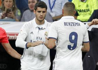 Morata: less game time than Benzema, more shots and goals