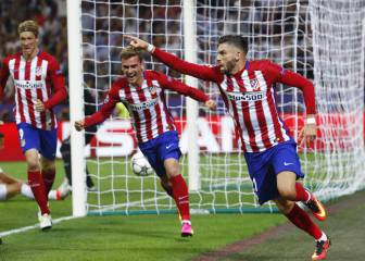Torres and Griezmann up front; Vrsaljko starts for Atlético