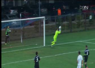 Otro fallo antológico de Luca Zidane en la Youth League