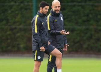 Guardiola, del incidente entre Arteta y Messi: