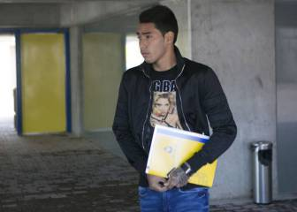 Las Palmas striker Araújo given nine months for drink-driving