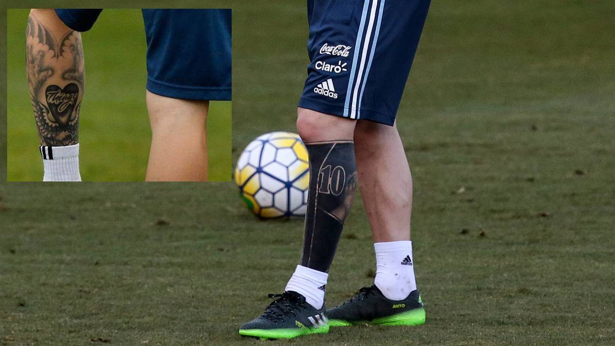 Messi S Tattoos: Messi's Remarkable Tattoo - AS.com
