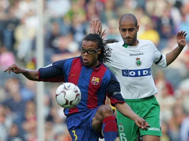 El holandés era mundialmente reconocido por sus rastas y sus gafas durante  los partidos. Apodado el  pitbull  d20e4b0e3dafd