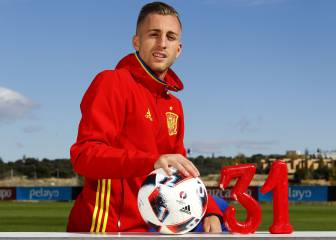 Gerard Deulofeu: goals and caps record for Spain's U-21s