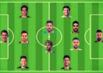The not-quite Spain XI