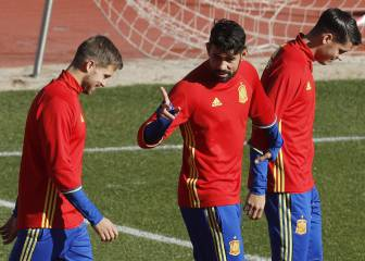 Iago Aspas replaces injured Diego Costa in Spain squad