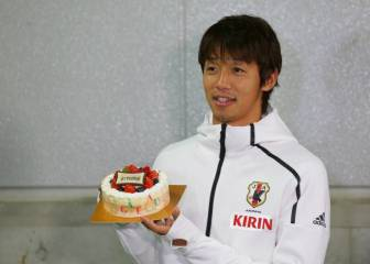 What a birthday for Kiyotake - on target and 2 assists for Japan