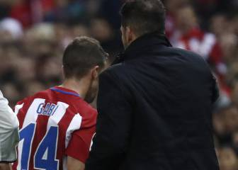 Gabi blows his top after being substituted in derby defeat