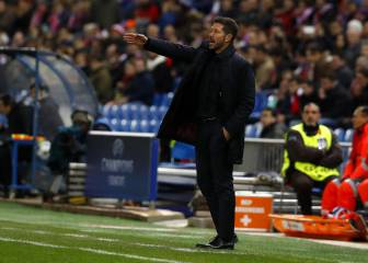Simeone hails Atleti's response after derby humiliation