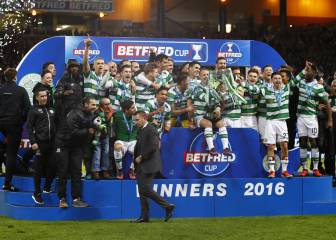 Celtic claim 100th title after League Cup win over Aberdeen