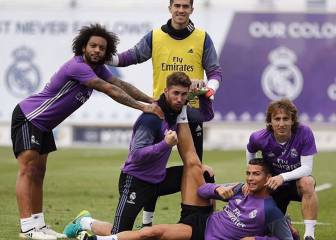 Zidane rests six players ahead of Saturday's Camp Nou Clásico