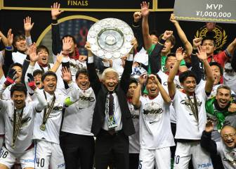 Kashima Antlers win J-League and will play in Club World Cup