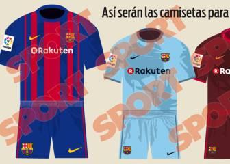 Sport filtra las equipaciones del Barça para la 2017-2018 47ba60bb7