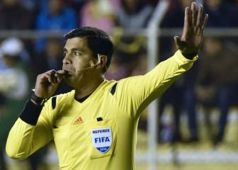 Enrique Cáceres will referee Madrid vs América