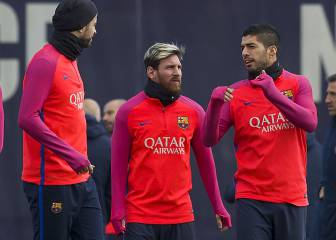 Mathieu the only absentee in the Barça squad ahead of derby