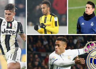 Real's summer plan after CAS ruling: Aubameyang, James...