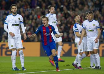 Alcacer finally gets his goal as Barça hammer Hercules