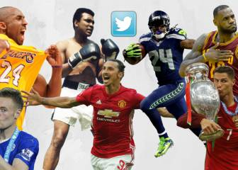 The 10 biggest sporting tweets of 2016