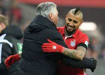 Vidal responds to Ancelotti's drop caution: