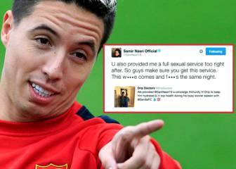 Nasri investigated for doping after Twitter treatment claims