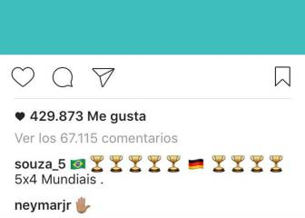 Neymar also responds to Toni Kroos New Year's message