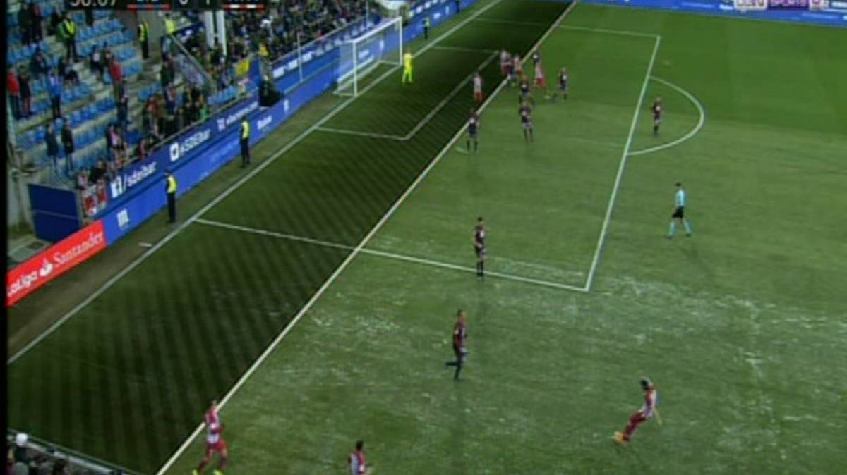 Eibar claim penalty and offside for Saúl's goal in Ipurua