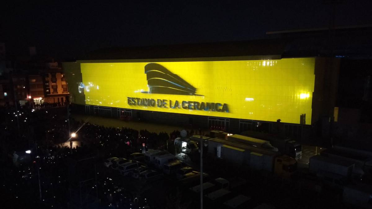 Villarreal's El Madrigal renamed 'Estadio de la Cerámica'