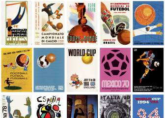 Every World Cup poster, from Uruguay 1930 to Russia 2018