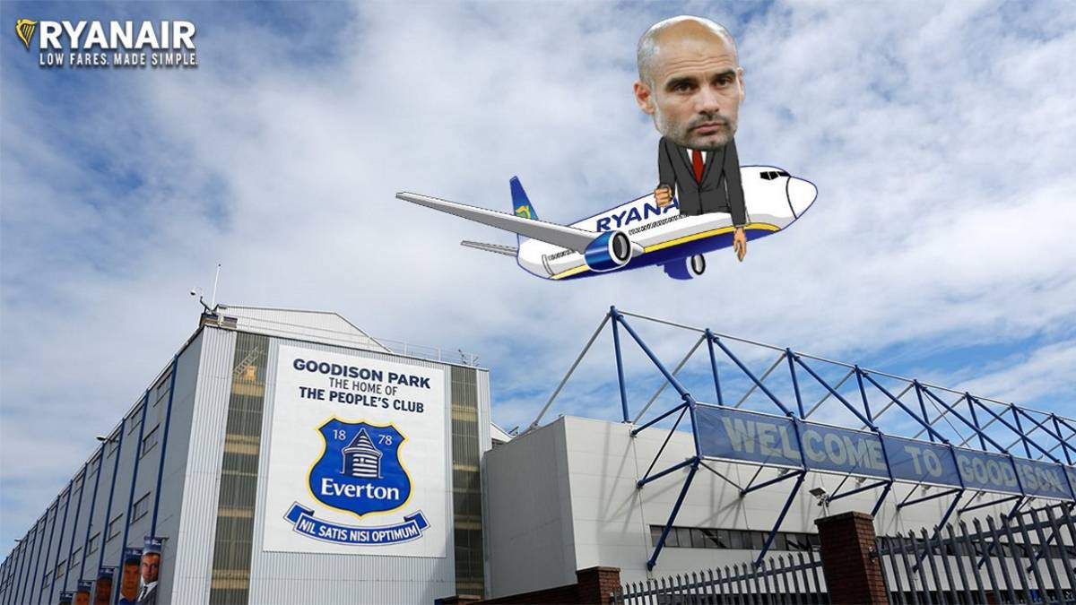 Ryanair offer Guardiola cheap flight escape from Manchester