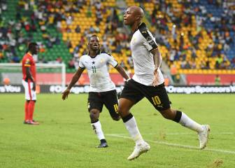 West Ham's Ayew gets Black Stars off to winning start