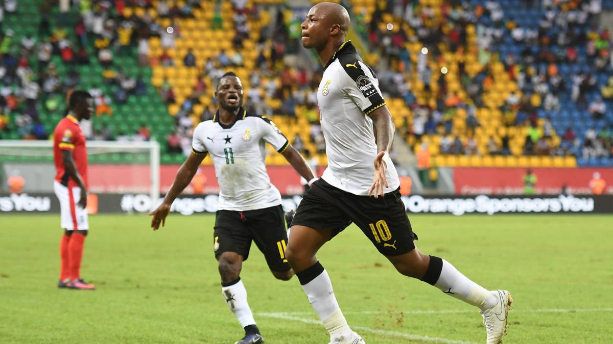 André Ayew penalty gives Ghana CAN 2017 win over Uganda