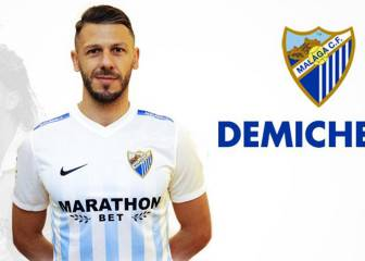 Demichelis makes Málaga move; Sandro is out for a month