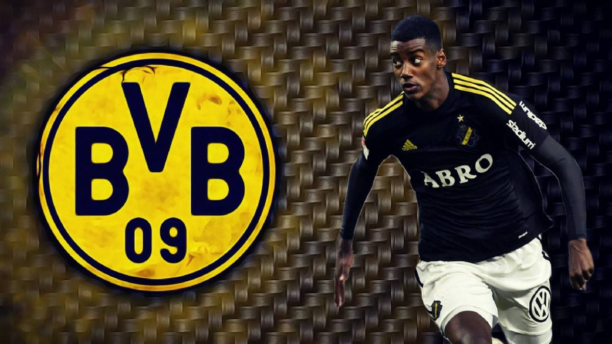 Real Madrid target Isak in talks with Borussia Dortmund
