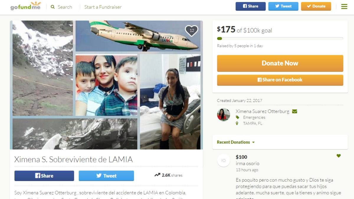 Chapecoense air disaster survivor asks Internet for help to pay bills