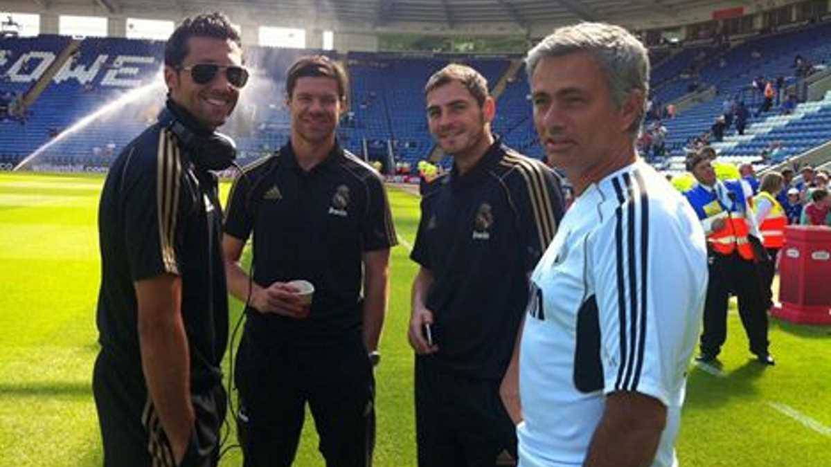 Mourinho birthday: Arbeloa posts photo with Xabi, Casillas