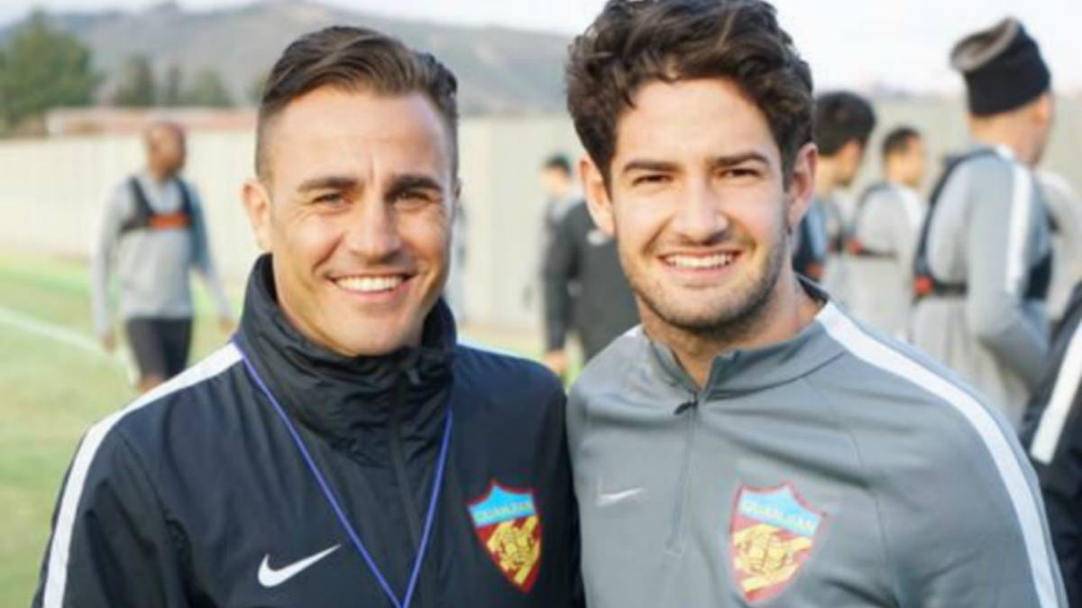 Cannavaro confirms Pato has joined Tianjin Quanjian