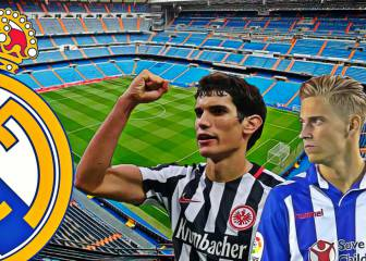 Vallejo and Llorente will join Real Madrid squad next season