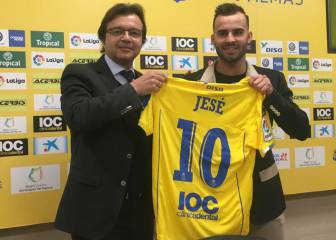 Jesé Rodríguez unveiled by Las Palmas after sealing loan move