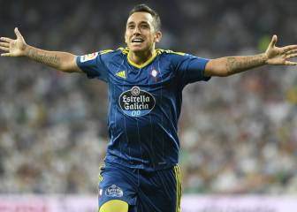 Celta OK Orellana move as he lands in Valencia for medical
