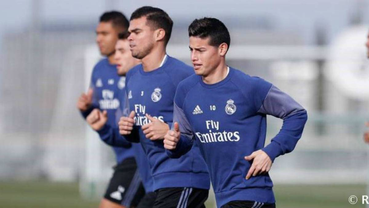 James y Pepe regresan al grupo y podrían estar ante Celta