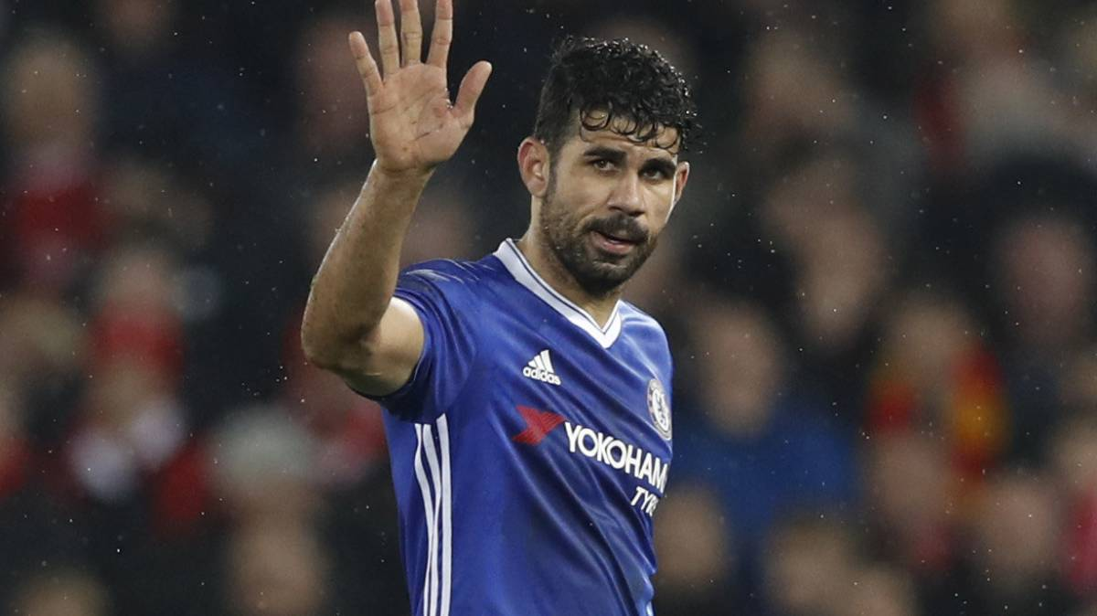 Report: Diego Costa accepts mega-offer to move to China